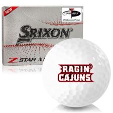 Srixon Z-Star XV 7 Louisiana Ragin' Cajuns Golf Balls