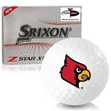 Srixon Z-Star XV 7 Louisville Cardinals Golf Balls