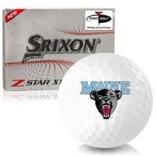 Srixon Z-Star XV 7 Maine Black Bears Golf Balls