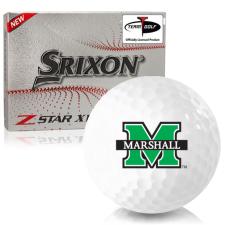 Srixon Z-Star XV 7 Marshall Thundering Herd Golf Balls