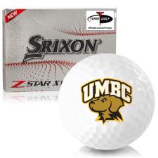 Srixon Z-Star XV 7 Maryland Baltimore County Retrievers Golf Balls
