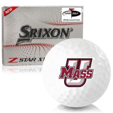 Srixon Z-Star XV 7 UMass Minutemen Golf Balls