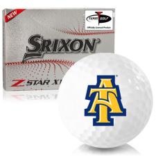 Srixon Z-Star XV 7 North Carolina A&T Aggies Golf Balls