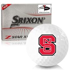 Srixon Z-Star XV 7 North Carolina State Wolfpack Golf Balls