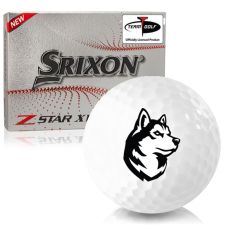 Srixon Z-Star XV 7 Northeastern Huskies Golf Balls