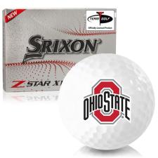 Srixon Z-Star XV 7 Ohio State Buckeyes Golf Balls