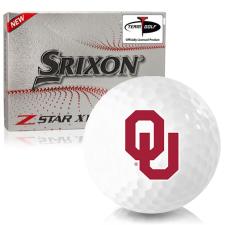 Srixon Z-Star XV 7 Oklahoma Sooners Golf Balls
