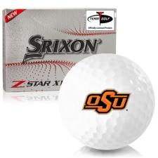 Srixon Z-Star XV 7 Oklahoma State Cowboys Golf Balls