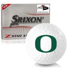 Srixon Z-Star XV 7 Oregon Ducks Golf Balls