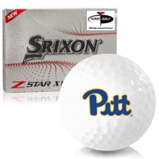 Srixon Z-Star XV 7 Pittsburgh Panthers Golf Balls
