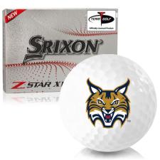 Srixon Z-Star XV 7 Quinnipiac Bobcats Golf Balls
