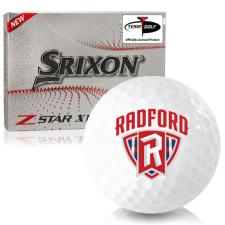 Srixon Z-Star XV 7 Radford Highlanders Golf Balls