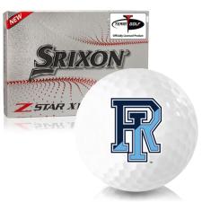 Srixon Z-Star XV 7 Rhode Island Rams Golf Balls