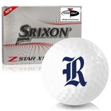 Srixon Z-Star XV 7 Rice Owls Golf Balls