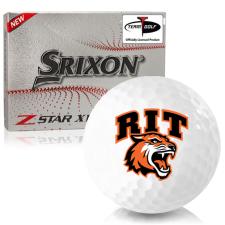 Srixon Z-Star XV 7 RIT - Rochester Institute of Technology Tigers Golf Balls