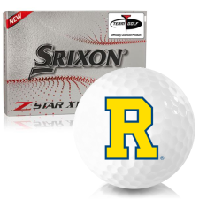 Srixon Z-Star XV 7 Rochester Yellowjackets Golf Balls