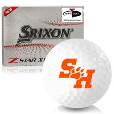 Srixon Z-Star XV 7 Sam Houston State Bearkats Golf Balls