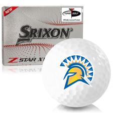 Srixon Z-Star XV 7 San Jose State Spartans Golf Balls