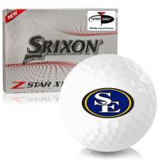 Srixon Z-Star XV 7 Southeastern Oklahoma State Savage Storm Golf Balls