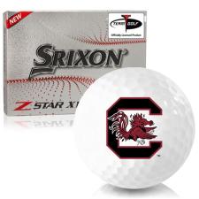 Srixon Z-Star XV 7 South Carolina Fighting Gamecocks Golf Balls