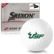 Srixon Z-Star XV 7 South Florida Bulls Golf Balls