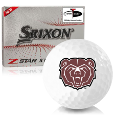Srixon Z-Star XV 7 Southwest Missouri State Bears Golf Balls