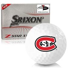Srixon Z-Star XV 7 St. Cloud State Huskies Golf Balls