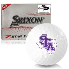 Srixon Z-Star XV 7 Stephen F. Austin Lumberjacks Golf Balls