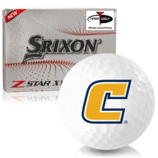 Srixon Z-Star XV 7 Tennessee Chattanooga Mocs Golf Balls