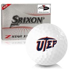 Srixon Z-Star XV 7 Texas El Paso Miners Golf Balls