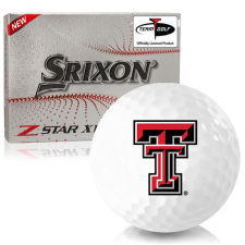 Srixon Z-Star XV 7 Texas Tech Red Raiders Golf Balls