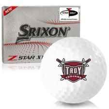 Srixon Z-Star XV 7 Troy Trojans Golf Balls