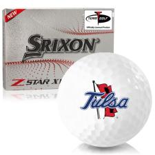 Srixon Z-Star XV 7 Tulsa Golden Hurricane Golf Balls