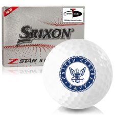Srixon Z-Star XV 7 US Navy Golf Balls