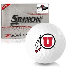 Srixon Z-Star XV 7 Utah Utes Golf Balls