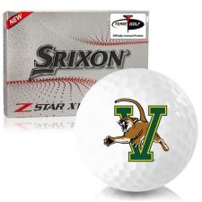 Srixon Z-Star XV 7 Vermont Catamounts Golf Balls