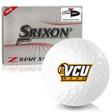 Srixon Z-Star XV 7 Virginia Commonwealth Rams Golf Balls
