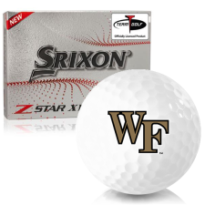 Srixon Z-Star XV 7 Wake Forest Demon Deacons Golf Balls