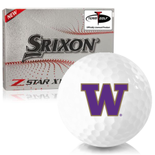 Srixon Z-Star XV 7 Washington Huskies Golf Balls