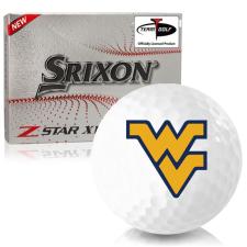 Srixon Z-Star XV 7 West Virginia Mountaineers Golf Balls
