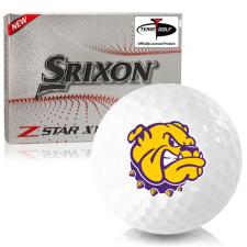 Srixon Z-Star XV 7 Western Illinois Leathernecks Golf Balls