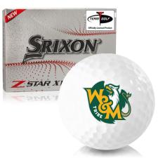 Srixon Z-Star XV 7 William & Mary Tribe Golf Balls