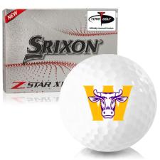 Srixon Z-Star XV 7 Williams College Ephs Golf Balls