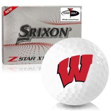 Srixon Z-Star XV 7 Wisconsin Badgers Golf Balls