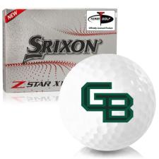 Srixon Z-Star XV 7 Wisconsin Green Bay Phoenix Golf Balls