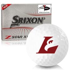 Srixon Z-Star XV 7 Wisconsin La Crosse Eagles Golf Balls