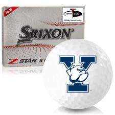 Srixon Z-Star XV 7 Yale Bulldogs Golf Balls
