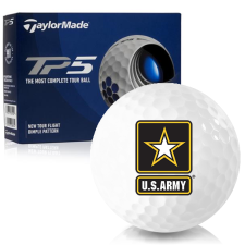 Taylor Made TP5 US Army Golf Balls