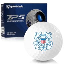 Taylor Made TP5 US Coast Guard Golf Balls