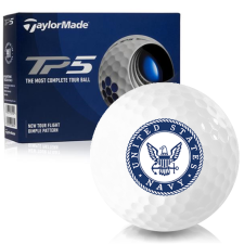 Taylor Made TP5 US Navy Golf Balls